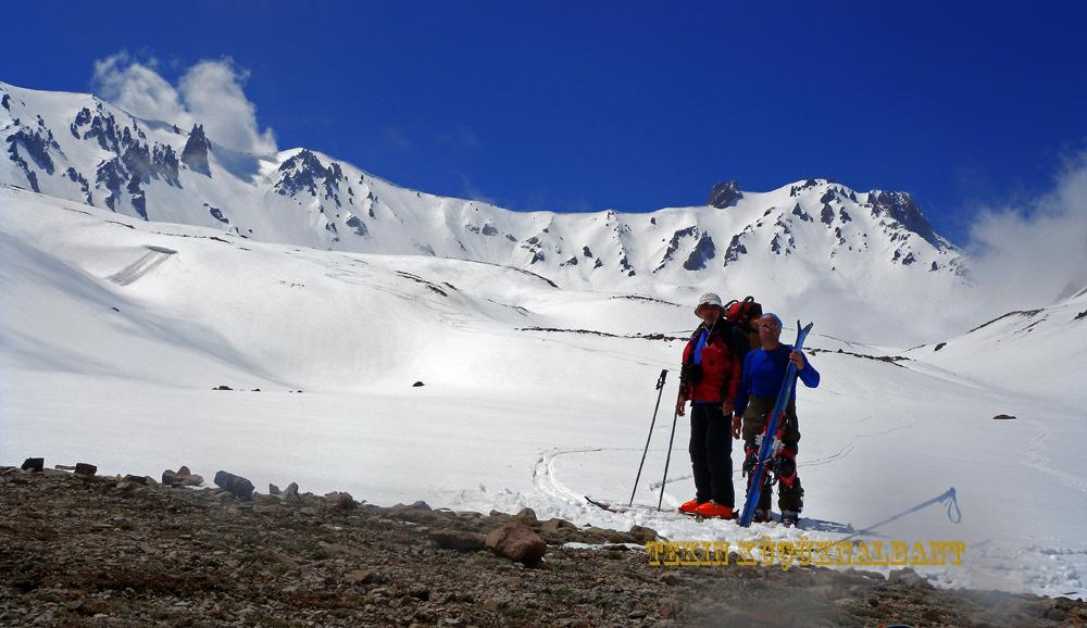 Mt.Erciyes East Face Climbing Base Camp Whit Rıdvan Karpuz, Erciyes Ski Resort