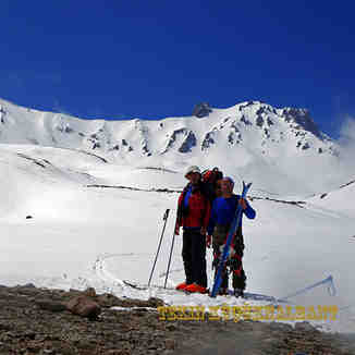 Mt.Erciyes East Face Climbing Base Camp Whit Rıdvan Karpuz, Erciyes Ski Resort