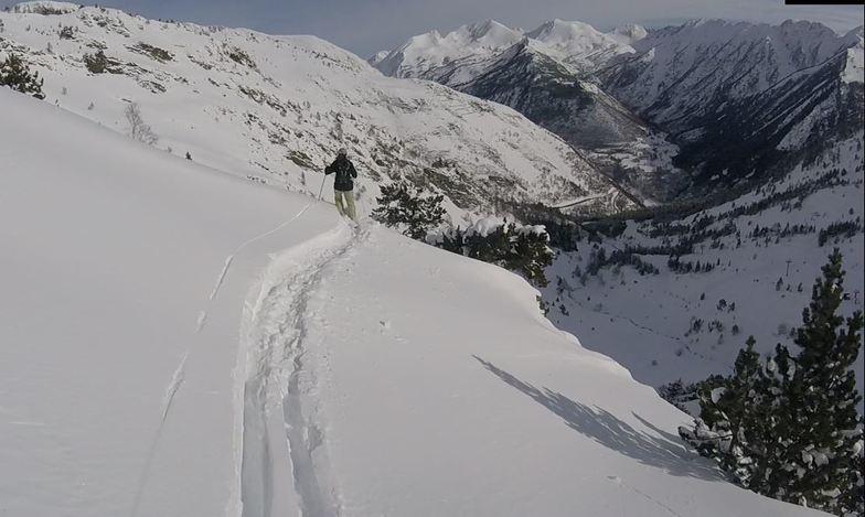 Tavascan - Pleta del Prat snow