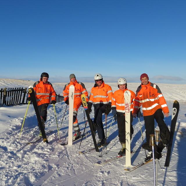 WSC tow operators, Weardale Ski Club