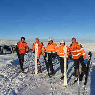 WSC tow operators, Weardale Ski Club