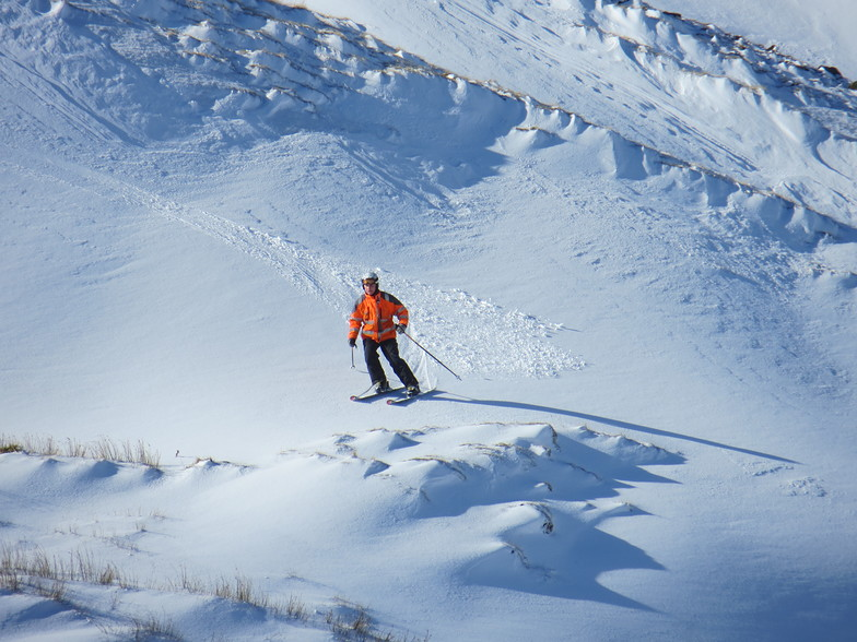 Some of the extensive off-piste skiing, Weardale Ski Club