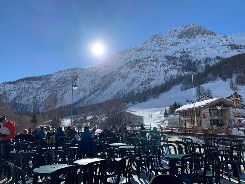 La Rosee Blanche, La Daille., Val d'Isere