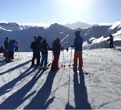Flaine Ski Resort by: Lynden Schwarzer