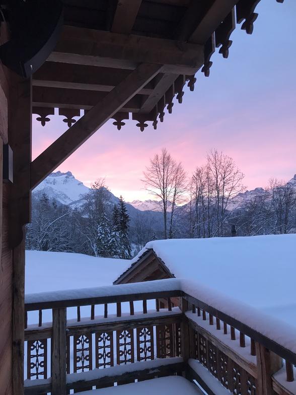 Early morning in Villars