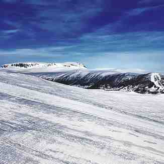 Looking across to Hallingskarvet, Geilo