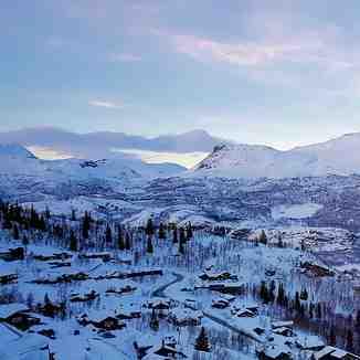 View from Skarsnuten, Hemsedal