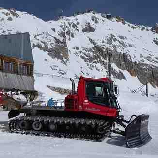 Preparation!, Garmisch-Partenkirchen-Zugspitze