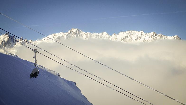 Lots of snow, Andermatt