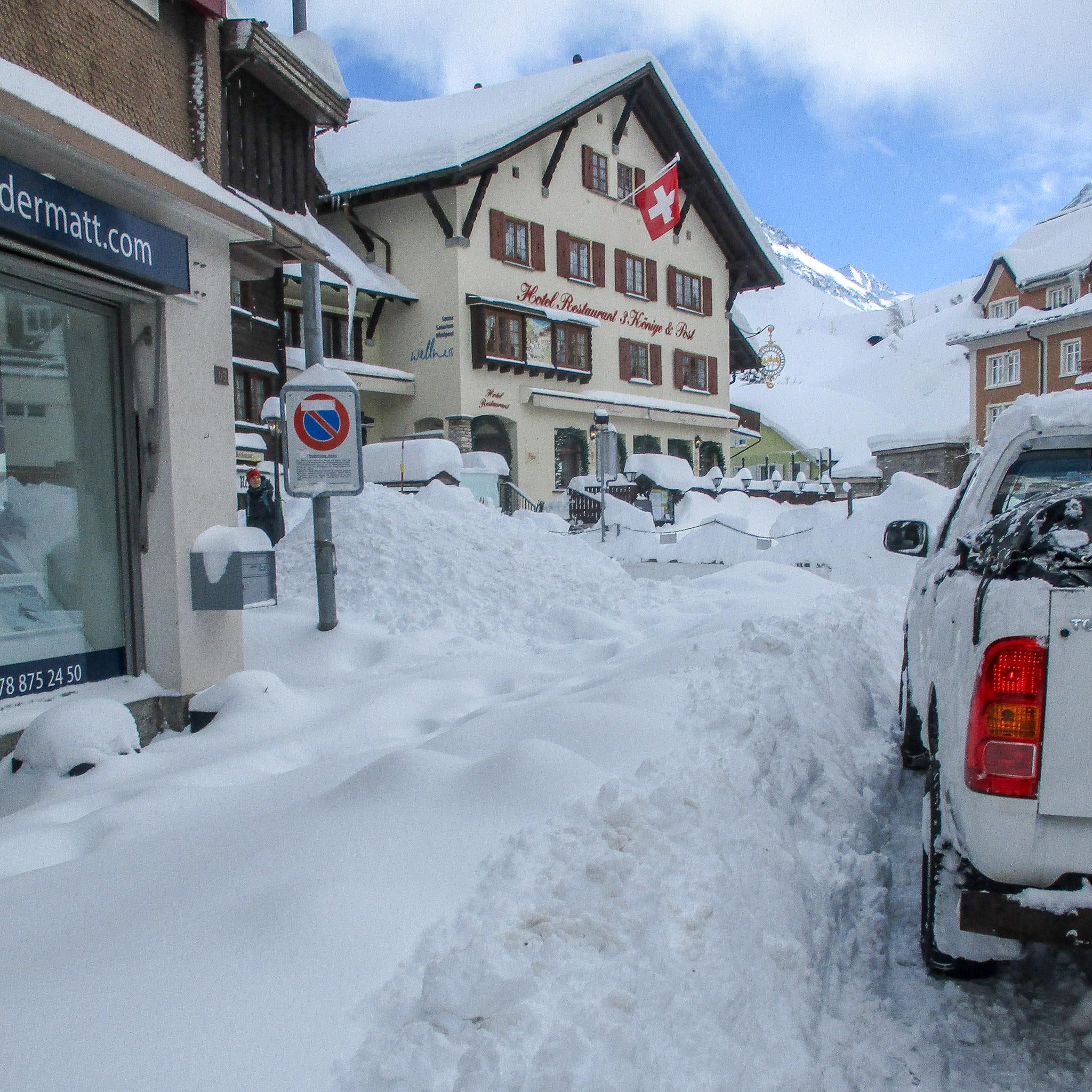 Snowed in?, Andermatt