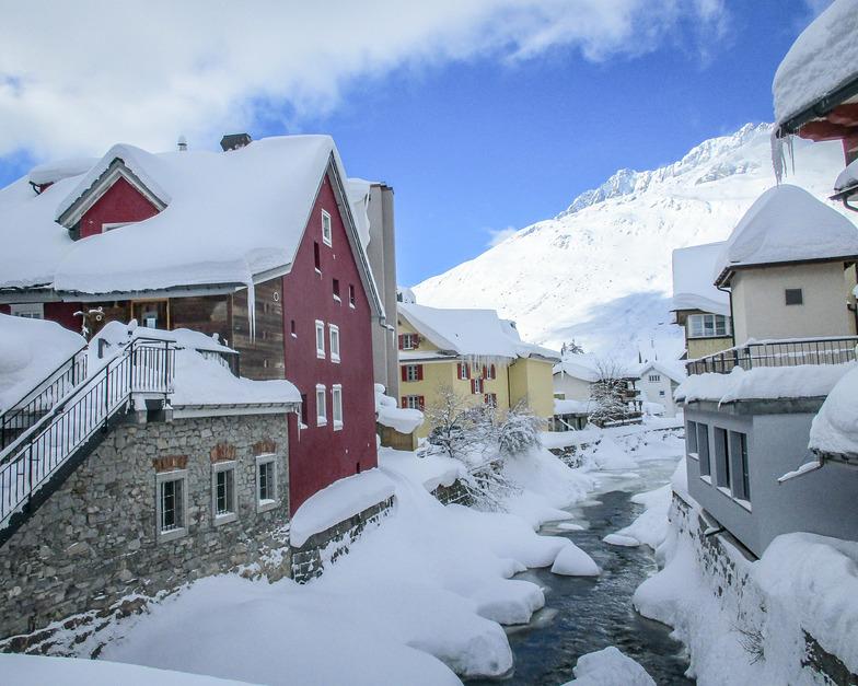Great winter conditions, Andermatt