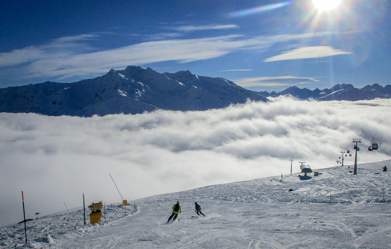 Above the clouds, Andermatt