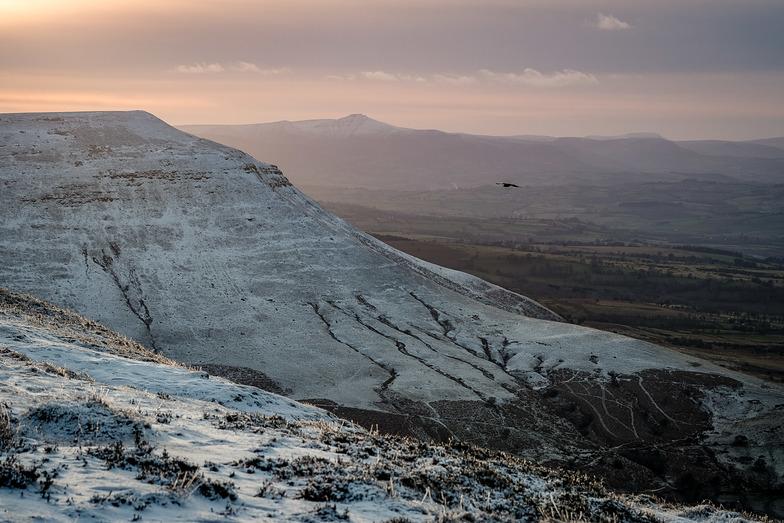 January snow, Brecon Beacons, Pen-y-Fan