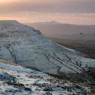 January snow, Brecon Beacons, Pen-y-Fan