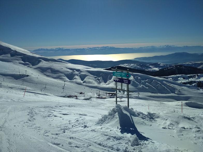 Sun, Sea & Skiing, Mount Parnassos