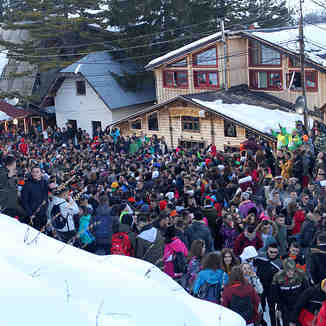 Massive party in Brezovica