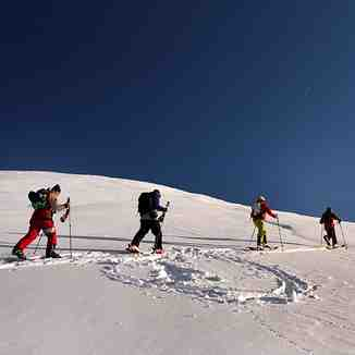 Ski touring bunch, Brezovica