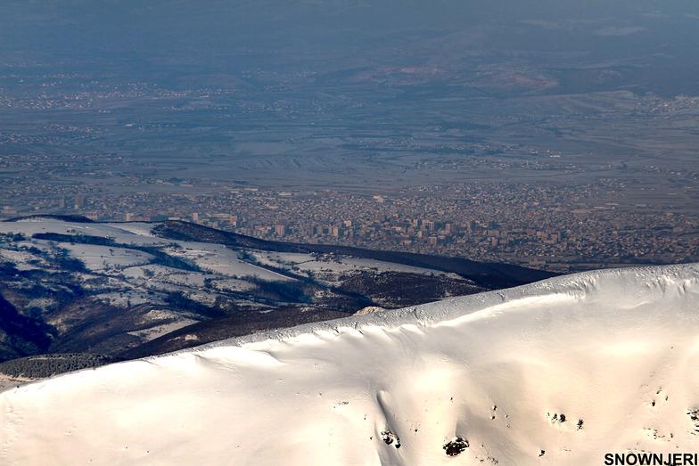 The city of Ferizaj, Brezovica