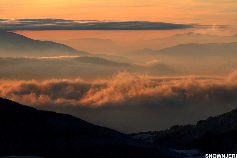 Zoomed clouds of Oshlak, Brezovica