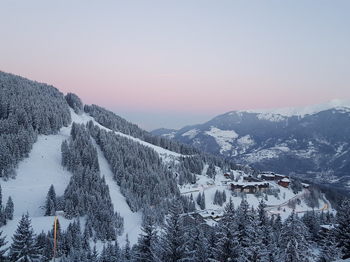 Courchevel Ski Resort by: Julia Holloway