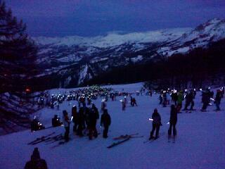 Pra Loup (Espace Lumière) Ski Resort by: lolo