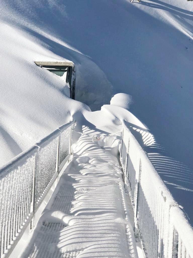 Latest snowfall, Gstaad Glacier 3000