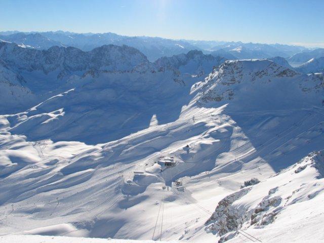 2964 meter, Garmisch-Partenkirchen-Zugspitze