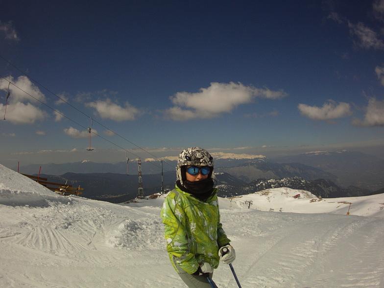 View from Hercules top, Mount Parnassos