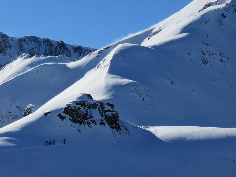 Silverton Mountain snow