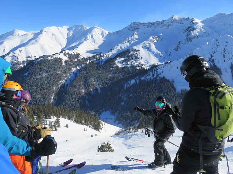 Silverton Mountain Ski Resort Guide, Location Map