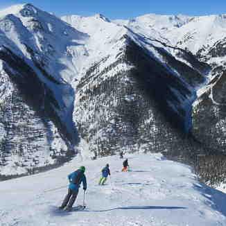 Skiing to Concussion, Silverton Mountain