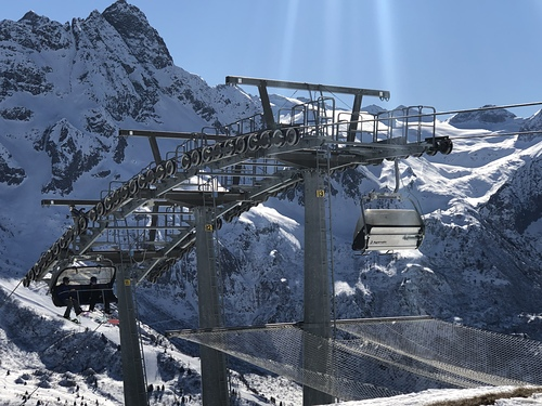 Passo Tonale Ski Resort by: Dominic Graham