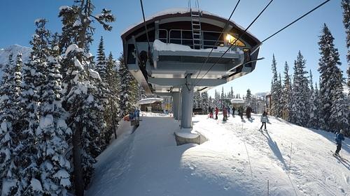 Sunshine Village Ski Resort by: Dominic Graham