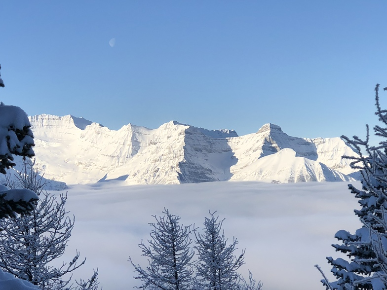 Mist over Lake Louise