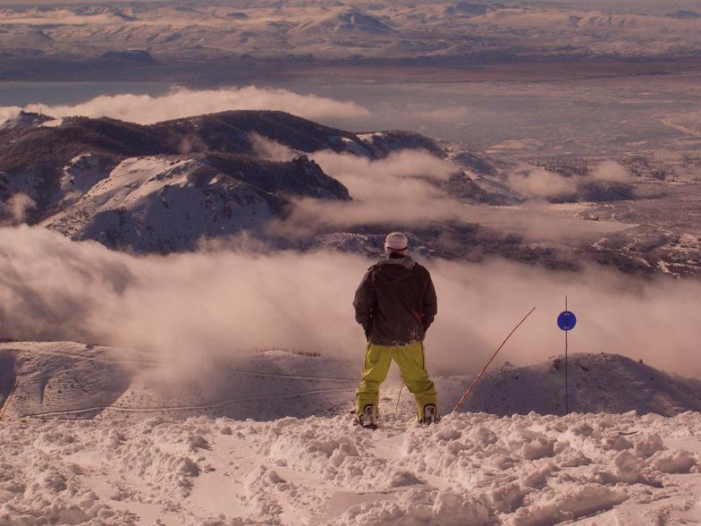 Patagonian powder, Cerro Catedral