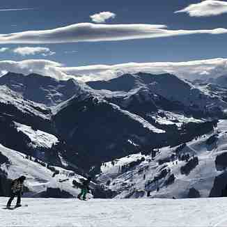 Sunshine over Saalbach and Hinterglem, Saalbach Hinterglemm
