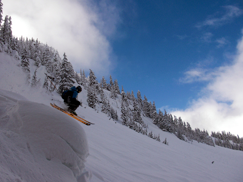 Stevens Pass Ski Resort by: Pat Ferris