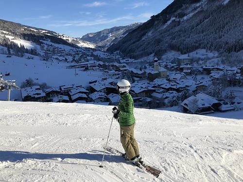 Saalbach Hinterglemm Ski Resort by: rifatkasoglu