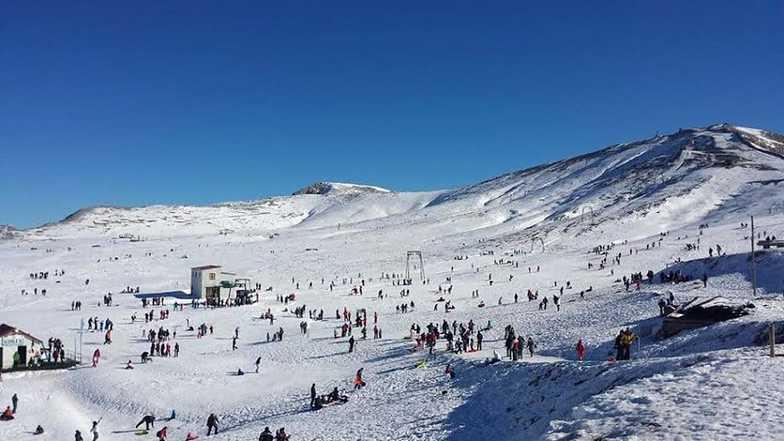 Campo-Catino snow