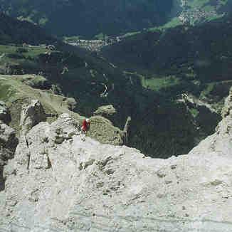 dolomite climber, Lienzer Dolomiten