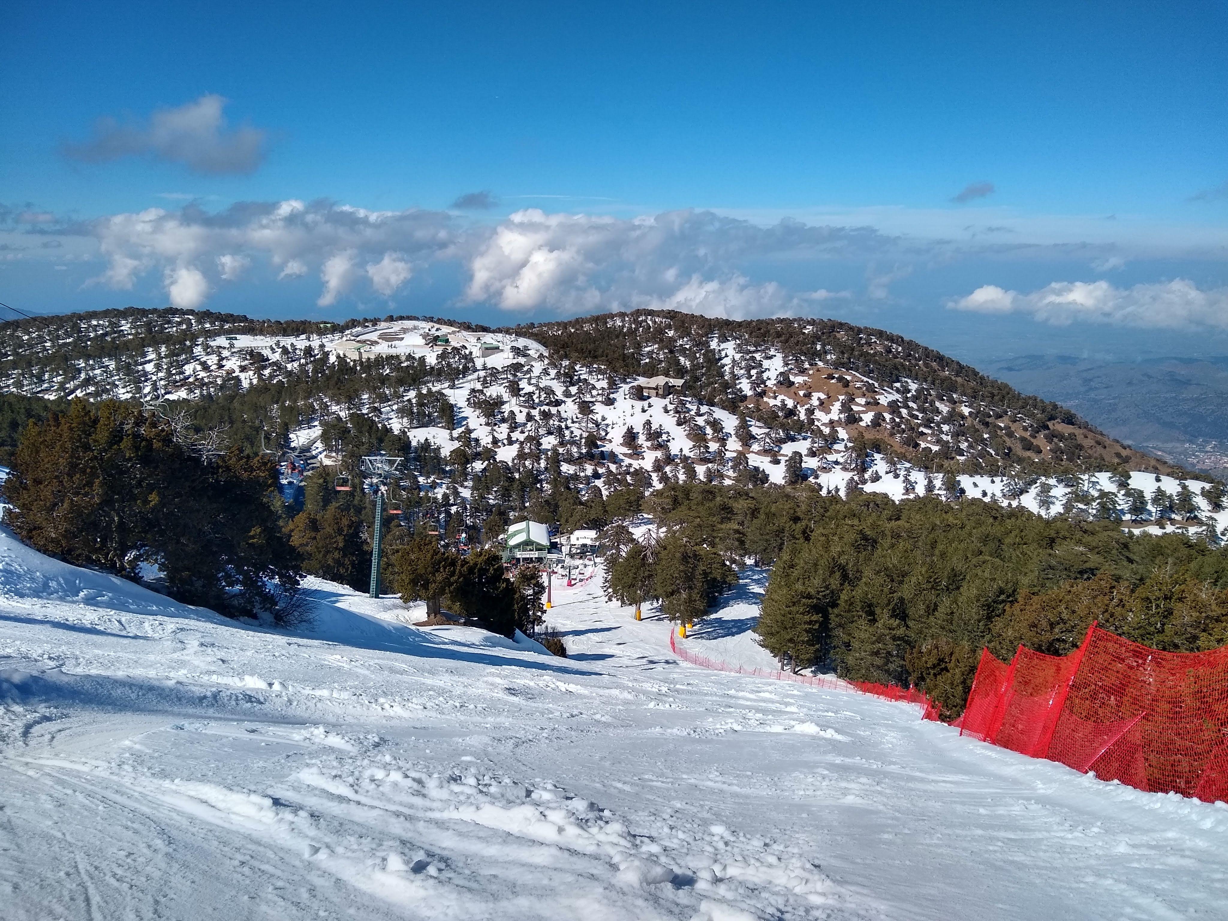 Racing Run, Mt Olympus
