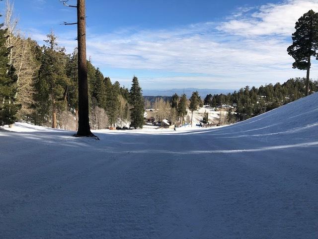 Beginner run at Mount Lemmon Ski Valley