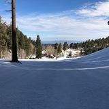 Beginner run at Mount Lemmon Ski Valley, USA - Arizona