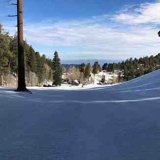 Beginner run at Mount Lemmon Ski Valley