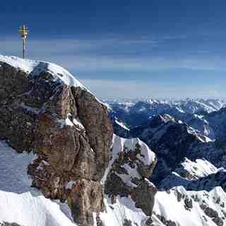 Zugspitze summit, Garmisch-Partenkirchen-Zugspitze