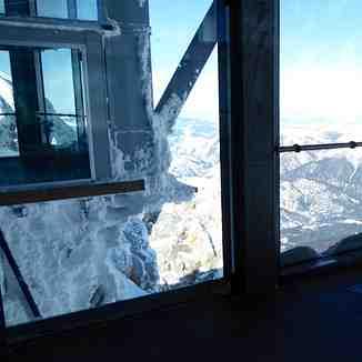 Inside cable car station Zugspitze, Garmisch-Partenkirchen-Zugspitze