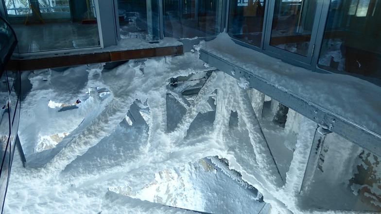 Deep freezer on top, Garmisch-Partenkirchen-Zugspitze