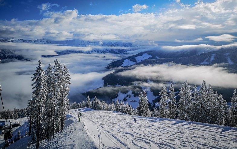 Saalbach with 60cm of fresh snow in last 72 hrs, Saalbach Hinterglemm