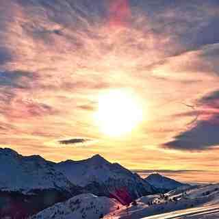 Lenzerheide sunrise