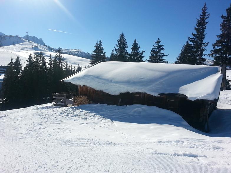 Lofer snow